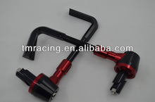 Universal Motorcycle Red Proguard System Pro Brake Clutch Levers Protect Guard Black