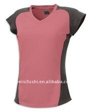 Woman Spandex Jogging Shirts