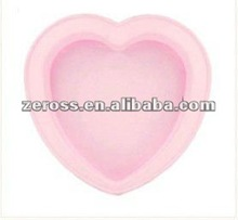Heart Shape Food Grade Silicone Cake Moulds/Silicone Baking Mould/chocolate mould