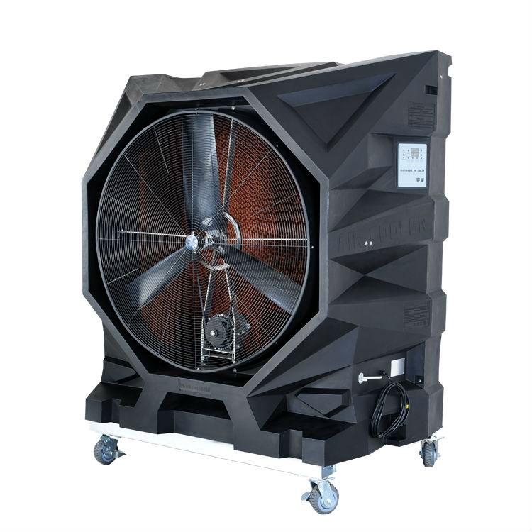 بهترین مارک کولر صنعتی دارای چه مشخصاتی است Industrial_Portable_Evaporative_Air_Cooler_water_cooling