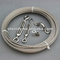 Wire rope railing/ cable railing hardware