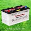 Newest Yuasan JIS Standard Dry Auto Start Car Batteries 12V95AH-N95