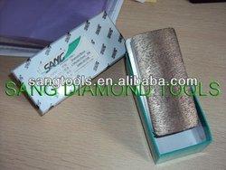 SANG Diamond Grinding Block, Diamond Fickert metall/resin bond