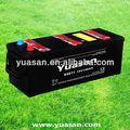 12v 140ah din de chumbo ácido seca cobrada carro pesado dever de/bateria de caminhão marca yuasan 64011