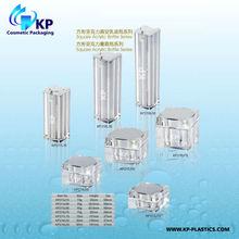 15ml 30ml 50ml square Acrylic Pump Bottle Acrylic Serum Bottle