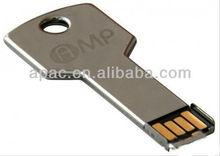 Plastic &Metal Key usb flash disk super thin drive one day fast delivery usb key