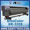 Xaar 382 Solvent Printer Sinocolor XR-3208,3.2m,With Xaar Proton Heads,720dpi