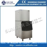 SUN TIER 195kg/24h Cube Ice Maker,industrial ice cube making machine