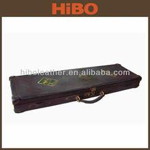 Hot sale Vintage Genuine Leather Gun Case