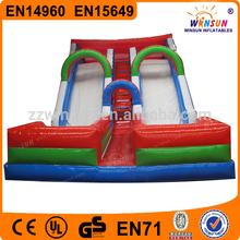 Amusement park commercial inflatable slip n slide rental