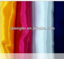 100% polyester satin fabric