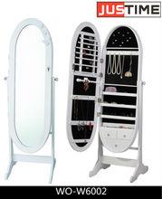 JEWELRY MIRROR, Elliptical cabinet, bedroom cabinet