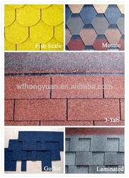 Asphalt roof shingle manufacturer to Britain, Singapore, Africa etc