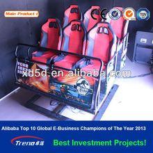 2012 hotest simulator hydraulic system 5d,6d 7d cinema machine