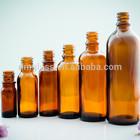 30ml-250ml glass bottles with glass dropper, boston round amber bottle