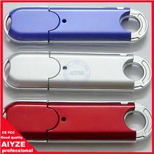 Simple custom plastic usb flash drive/white plastic usb