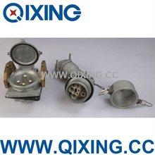400A industrial large amp plug QX4051/ Aluminum male plug/inlets