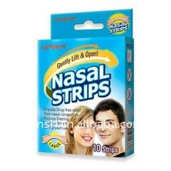 Tiras nasais para melhor respiração
