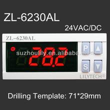 24V Electronic Digital Thermostat for Cold Sotrage, cool/heating ZL-6230AL