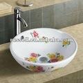 Banho pintado afundar bacia banheiro projeto A8003-4