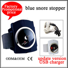 Small packing New blue sea snore stopper Infrared Snore Stopper with CE&rosh