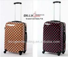 fashion dot abs+pc trolley luggage