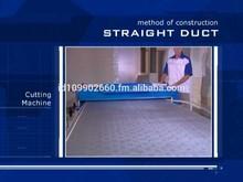 Pre Insulated Aluminium Composite Air Condition Duct Panel