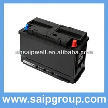 2013 all types of n100 12v 100ah dry charged auto car battery