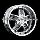 Aluminum Alloy Chrome Tuner Mag wheel 17 inch V3