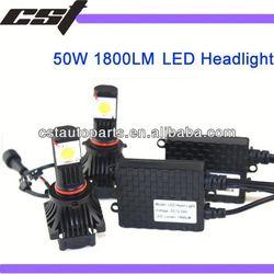 New Product LED Headlight 50W 1800LM led auto head light 9005/9006