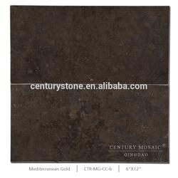 Mediterranean Gold Chocolate Brown Tile Limestone Slabs Sale Price Limestone