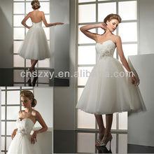 2013 Hot Sell Ball Gown Short Wedding Dress Knee Length -- AA120