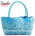 2015 sac à main Comely USA marché de découpe Laser folower motif Comely sacs fourre - tout sac femmes sacs sacs à main dames motif de femme ha