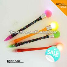 2013 light ball pen glow pen