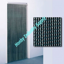 Rustproof Anodized Aluminum Chain Link Door Curtain