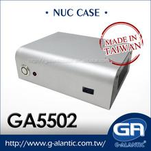 GA5502 fanless mini itx case with AC adapter htpc