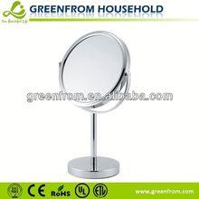 7 Inch Round Chrome Mirror Border Designs