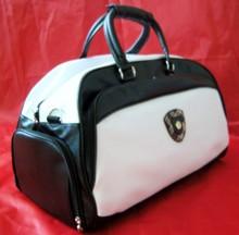 2014 China manufacturer pu leather fashion name brand travel bags