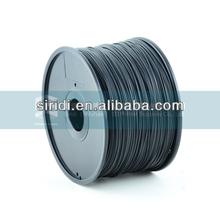 De plástico transparente varilla 3d filamento impresora 1.75 mm 3.0 mm imprimante 3d