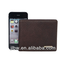 hot selling deluxe business men leather wallets/money clip