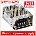 Mini- tamaño de fuente de alimentación conmutada ms-25-24 220v 24v 12v 5v transformador