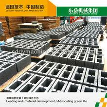 hollow coal ash brick making machine qt4-15 dongyue machinery group