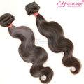 homeage extensões de cabelo humano natural onda do corpo brasileiro cabelo tecer