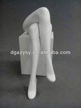 female manikin legs