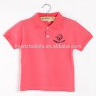 Colors customized kids clothes/Plain kids clothes/Polo kids clothes