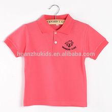 Los colores personalizados ropa niños/llanura niños ropa/polo ropa de los niños