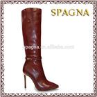 Gladiator Thigh High Women Boots High Heel Knee High Boots