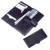 Black Leather Passport Cover/ genuine leather passport cases / passport travel wallets