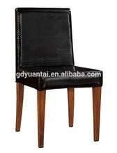PU Leather Imitation Wood Chair For Sale YA-077