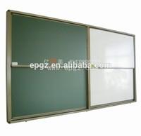 Aluminium Frame Magnetic Whiteboard With Zine Back Board